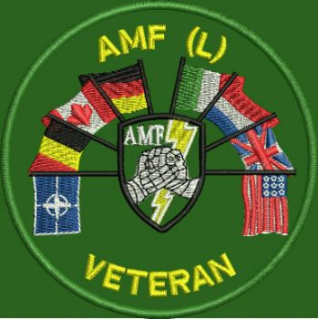 AMF (L) Veteran Embroidered Badge